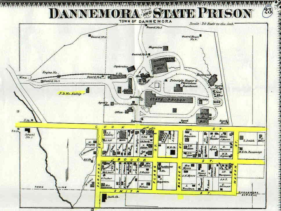 Map Of New York Dannemora.Dannemora History Of Dann1 Htm